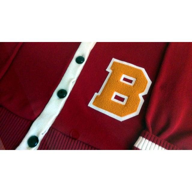 """Framed Varsity Letterman's """"B"""" Sweater - Image 6 of 9"""