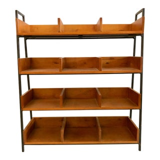 Four Shelves / Twelve Sections Etagere For Sale