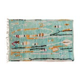 """Image of Berber Moroccan Wool Rug- 7'8""""x5'6"""" For Sale"""