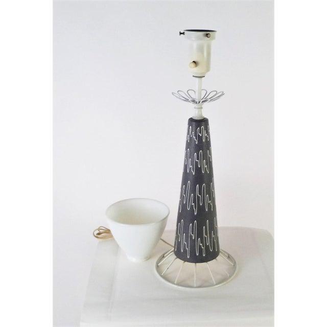 Mid-Century Modern Gerald Thurston Mid-Century Modern Table Lamp for Lightolier, 1950s For Sale - Image 3 of 10