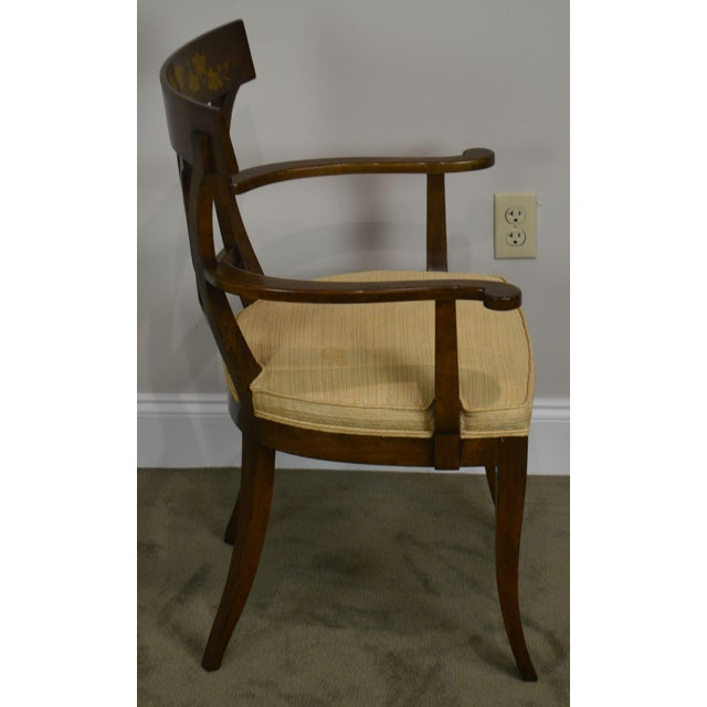 Nahon Custom Quality Set of 8 Regency Style Mahogany Dining Chairs For Sale In Philadelphia - Image 6 of 13