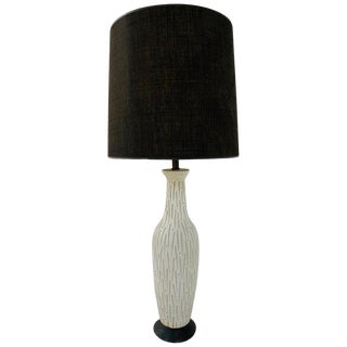 Mid Century Modern Pottery Lamp by Design Technics For Sale