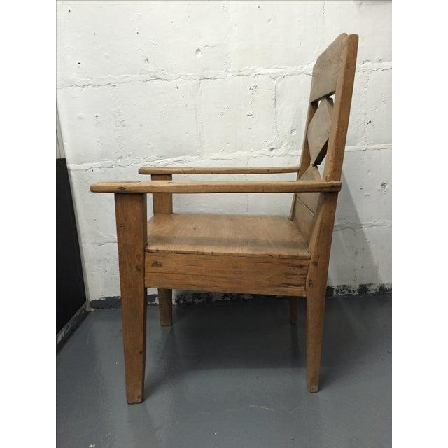 Mango Wood Indonesian Chair - Image 3 of 5