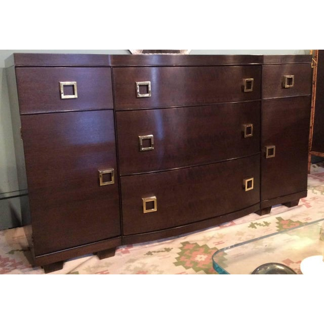 Mid-Century Bow Fronted Chest of Drawers - Image 7 of 10
