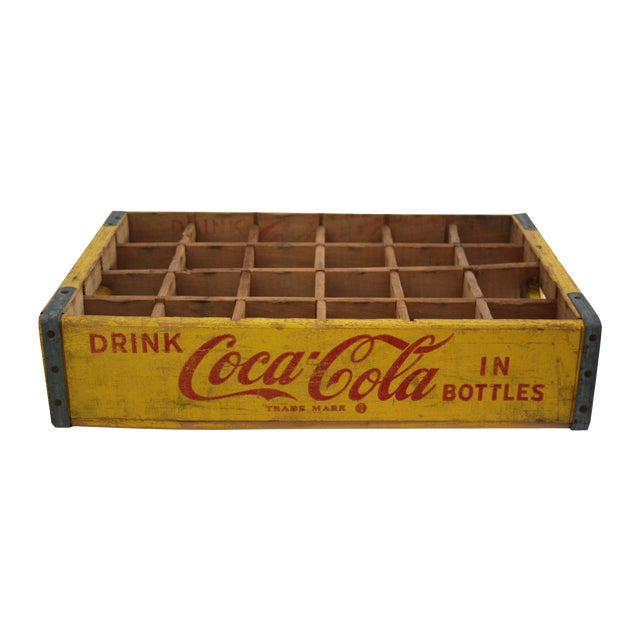 Vintage Coca-Cola Crate For Sale