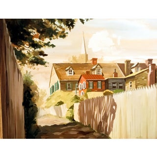 """""""New England Walkway"""" Giclee Print"""