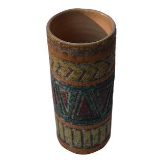 Mid-Century Raymor Bitossi Italian Lava Glaze Vase