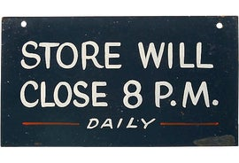 Image of Store Signs