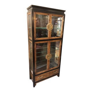 Century Furniture Ming Curio Cabinet For Sale