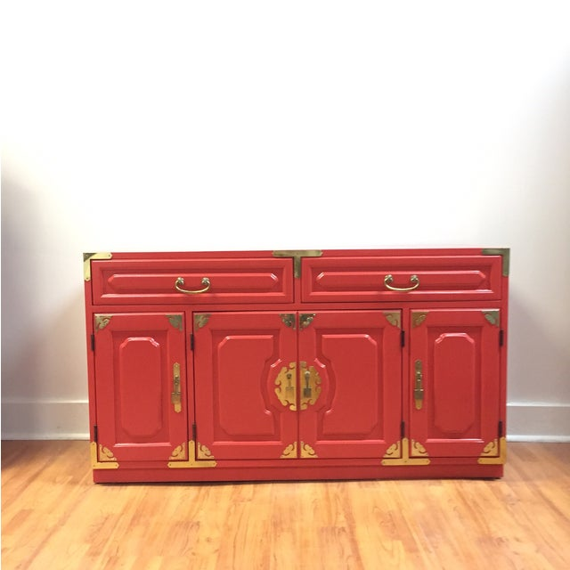 Bernhardt Million Dollar Red Buffet - Image 2 of 4