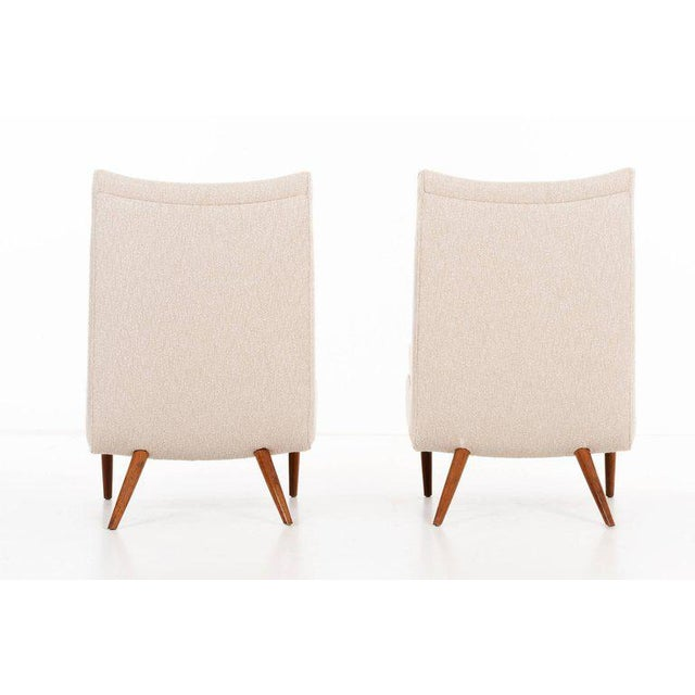 George Nakashima Pair of Chairs For Sale In New York - Image 6 of 9