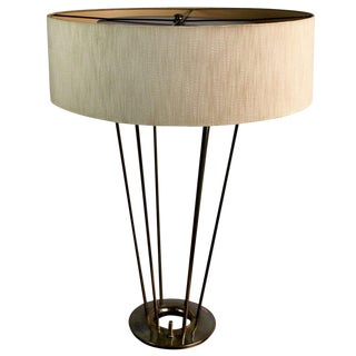 1950s Mid-Century Modern Stiffel Brass Table Lamp For Sale
