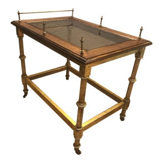 1950s Cesare Lacca Style Italian Bar Cart For Sale