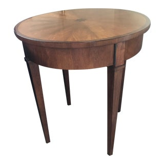 Contemporary Arterior's Home Wood End Table