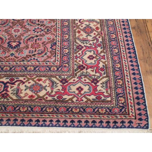 Islamic Pink Kayseri Carpet For Sale - Image 3 of 6