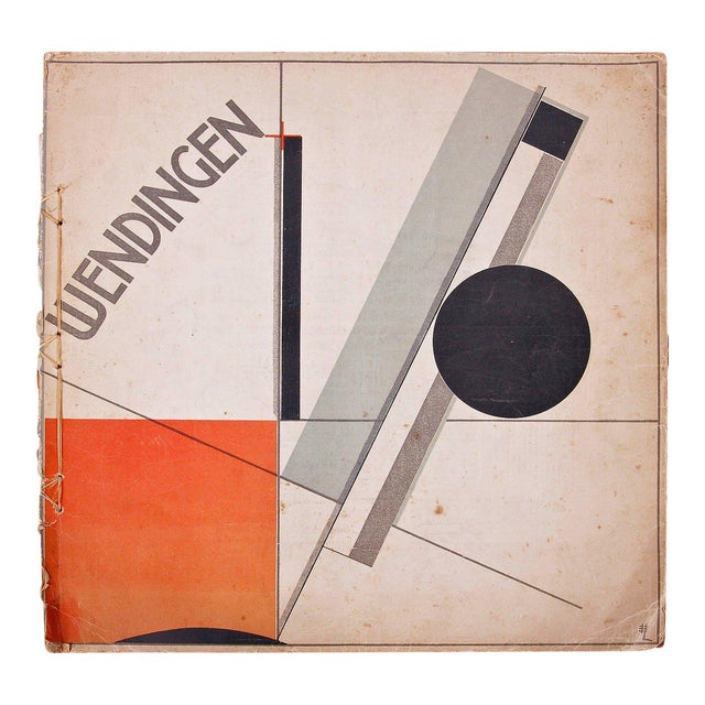 Wendingen, Issue 11, Cover by El Lissitzky, 1921 - Image 1 of 11