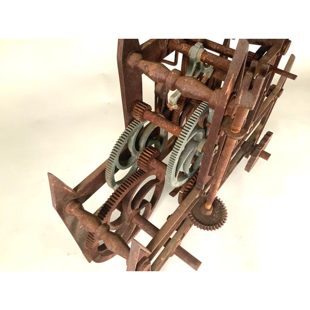 19th Century Large Iron Clockworks For Sale In New York - Image 6 of 10