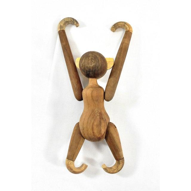 Vintage Carved Wooden Hanging Monkey - Image 10 of 10