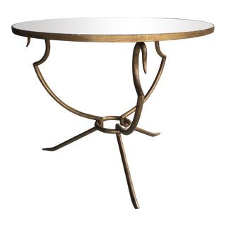 Regency Baker Round Center Hall Table For Sale