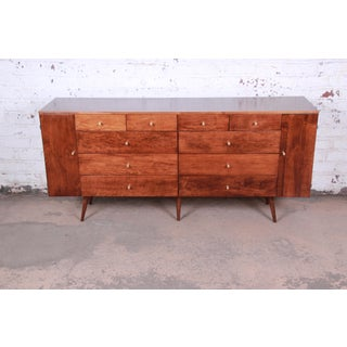 Paul McCobb Planner Group 20-Drawer Dresser or Credenza, Newly Refinished Preview