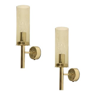 Mid-Century Modern Hans-Agne Jakobsson Wall Lamps - a Pair For Sale