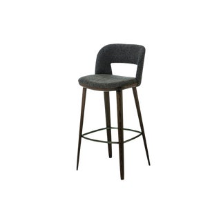 1566 Barstool by Carlesi Tonelli, Bross Italy For Sale