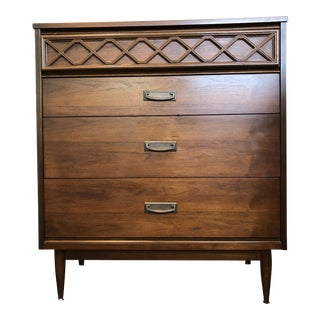 1960s Mid Century Modern Basset Highboy For Sale