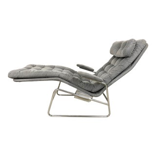 Sam Larsson for Dux Fenix Reclining Chaise Lounger For Sale