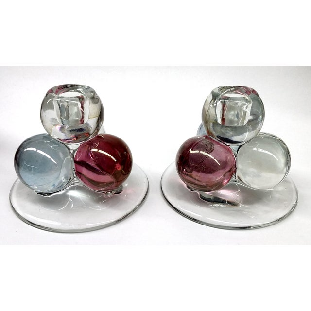 Lovely Pair of Westmoreland Candle Holders in the RARE design. I had the entire set, the huge matching bowl to match these...