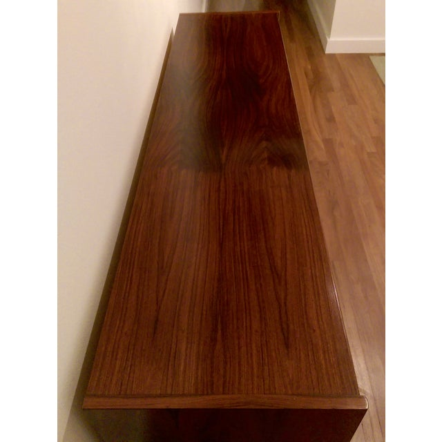 Mid-Century Modern 6-Drawer Rosewood Dresser From Belgium - Image 8 of 10