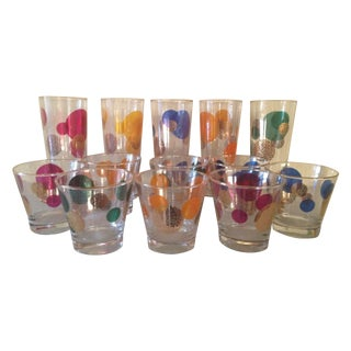 MCM Russel Wright Eclipse Cocktail Glasses - S/13