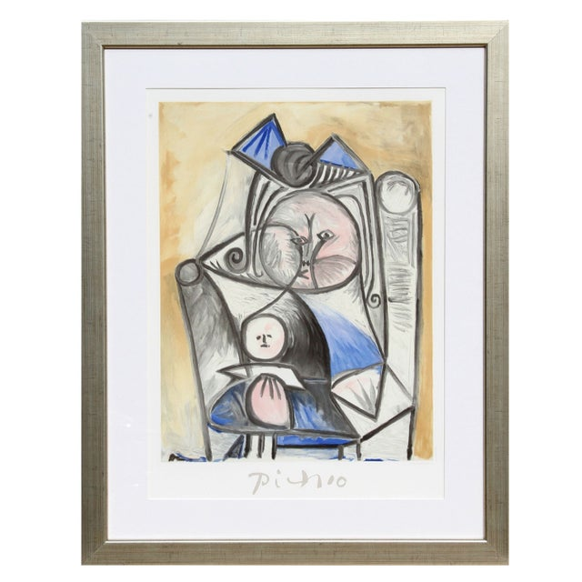 Pablo Picasso Fillette a La Poupee Estate Lithog For Sale