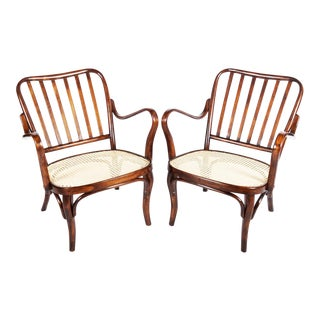 No. 752 Armchair by Josef Frank for Thonet For Sale