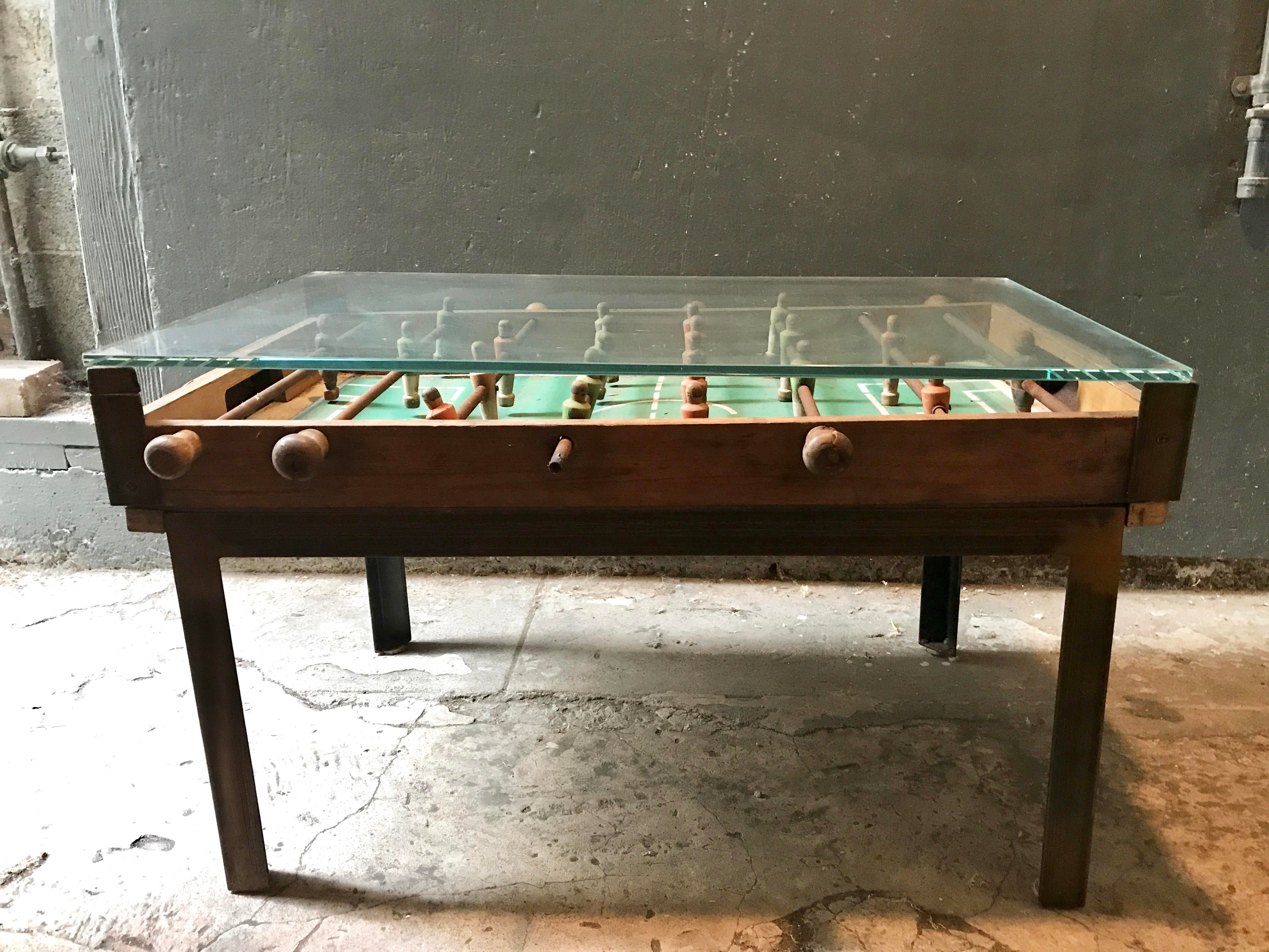 An Antique And Rare Foosball Table Purchased At Big Daddyu0027s Antique Store  On 18th Street.