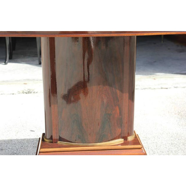 Jules Leleu French Art Deco Palisander Console Tables - A Pair - Image 5 of 10