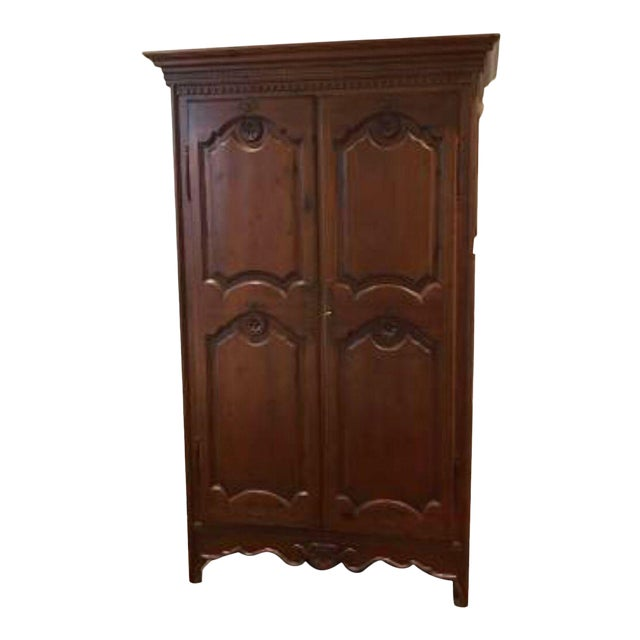 Vintage Clothing Armoire - Image 1 of 4
