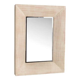 """Olivia"" Wood Framed Mirror"