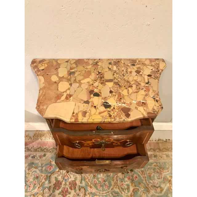 Wood Louis XVI Style Side Table For Sale - Image 7 of 8