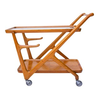1960s Cesare Lacca Designed Bar Cart by Cassina For Sale