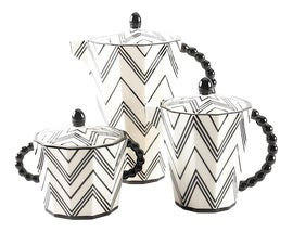 Image of Art Deco Coffee and Tea Service