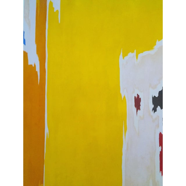 """Clyfford Still Abstract Expressionist Lithograph Print Poster """"Ph - 1074"""", 1956 For Sale - Image 5 of 11"""