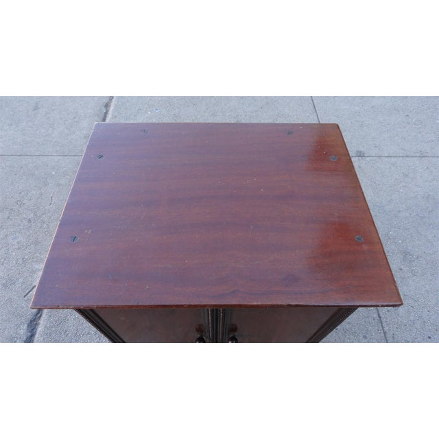 Gecophone Solid Mahogany Small Cabinet - Image 6 of 8