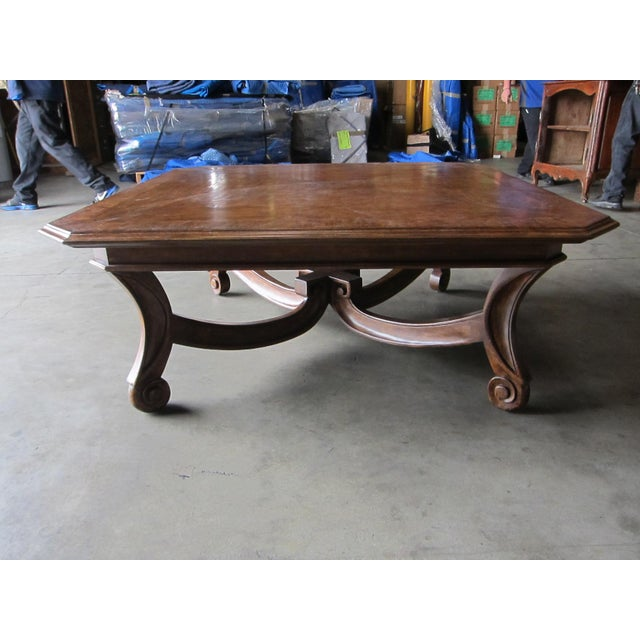 A beautifully Italian styled coffee table to compliment a contemporary or traditional seating arrangement. The custom...