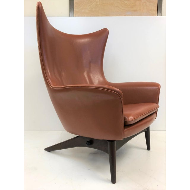Reclining Lounge Chair by H.W. Klein For Sale In New York - Image 6 of 6