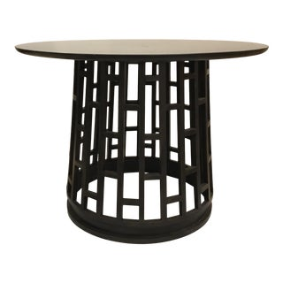Cyan Design Modern Granite and Iron Paulo Foyer Table/Center Table For Sale