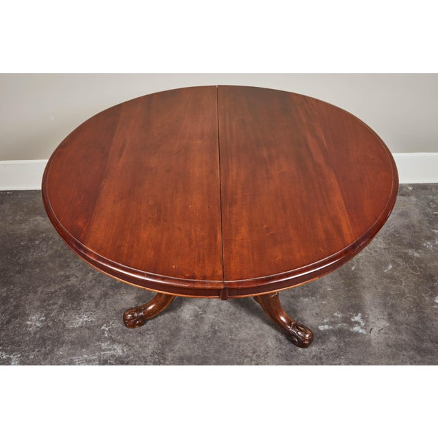 Mid 19th Century Late 19th Century French Pedestal Table For Sale - Image 5 of 10