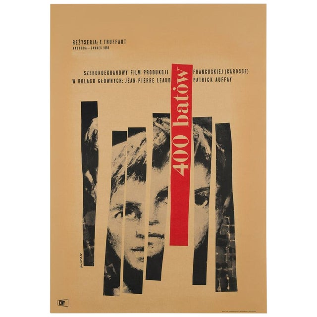 "Waldemar Swierzy ""400 Blows"" For Sale"