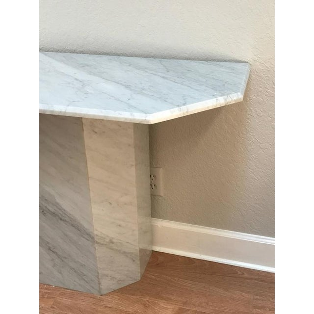 Italian Modern Carrera Console Table - Image 6 of 8