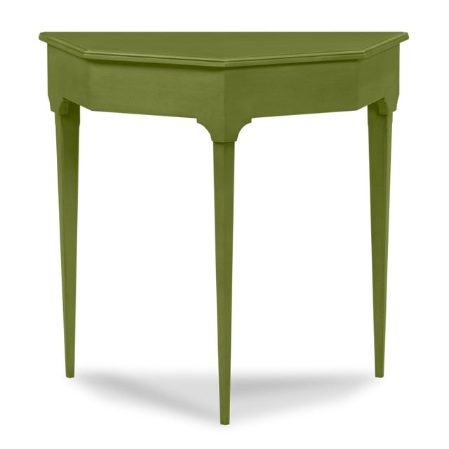 Traditional Annette Enry Console, Timson Green For Sale - Image 3 of 3