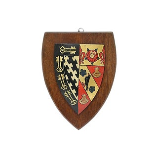 Vintage Exeter College of Oxford Wall Plaque For Sale